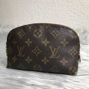 AUTH Louis Vuitton Cosmetic Pouch CA0064